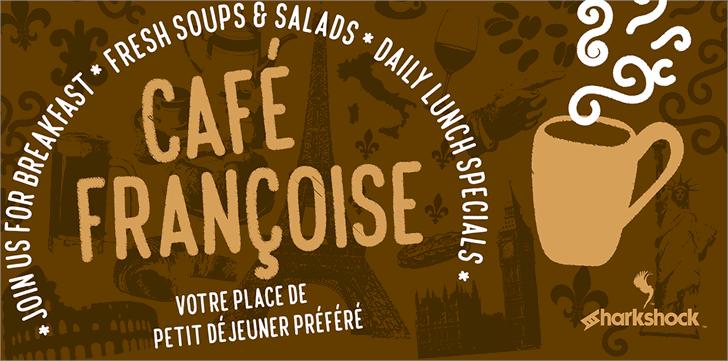 Download Café Françoise font (typeface)