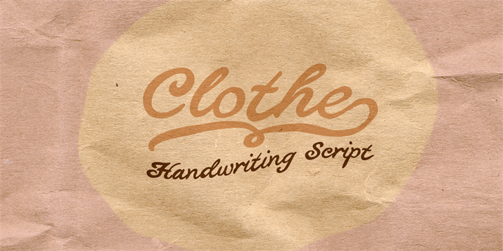 Download Clothe font (typeface)