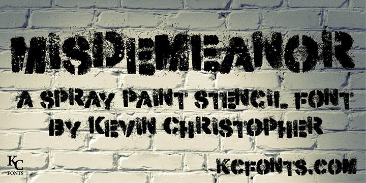 Download Misdemeanor font (typeface)