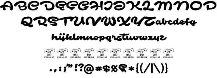 Download Safir Script font (typeface)