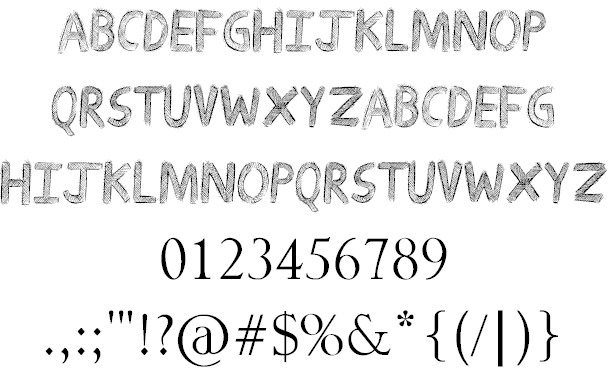Download Drawing Guides font (typeface)