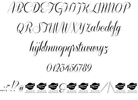 Download Coneria Script font (typeface)