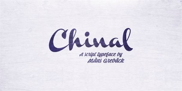 Download Chinal Light font (typeface)