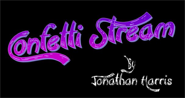 Download Confetti Stream font (typeface)