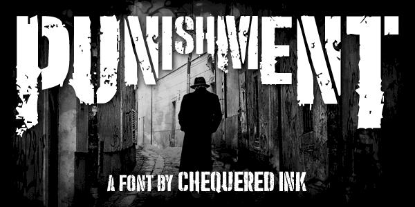Download Punishment font (typeface)