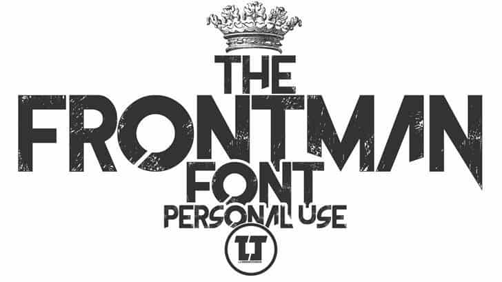 Download The Frontman font (typeface)