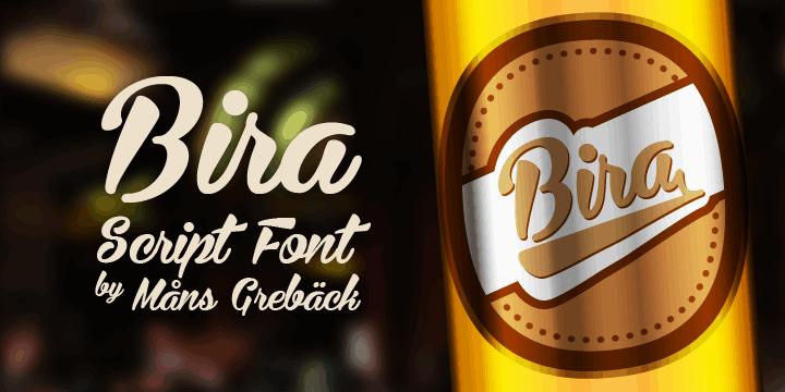 Download Bira font (typeface)