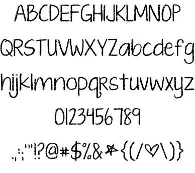 Download KG Ten Thousand Reasons font (typeface)
