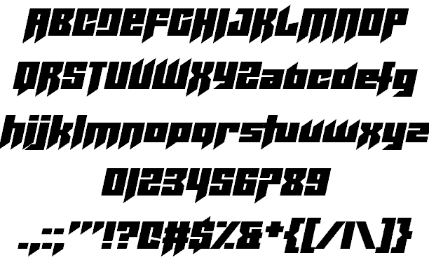 Download Helicopta font (typeface)