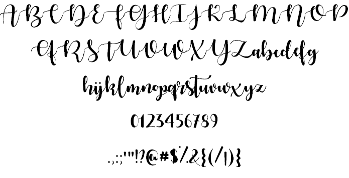 Download Autumn in November font (typeface)
