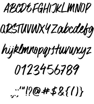 Download Surfer Bay font (typeface)