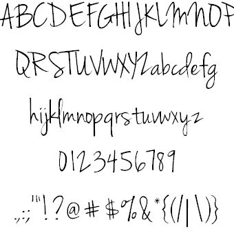 Download Jenna Sue font (typeface)