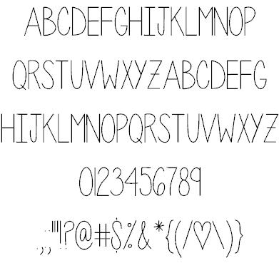 Download Penelope Anne font (typeface)