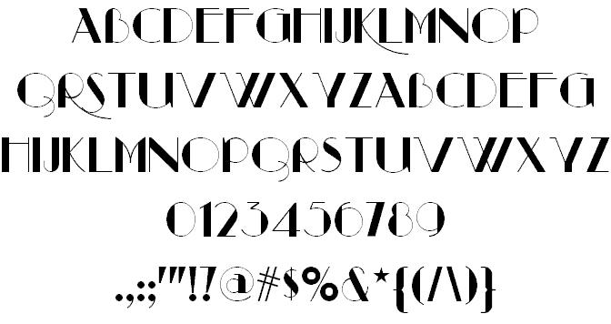 Download Raconteur NF font (typeface)