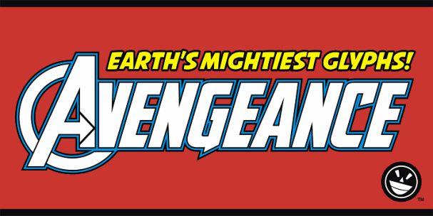 Download Avengeance font (typeface)