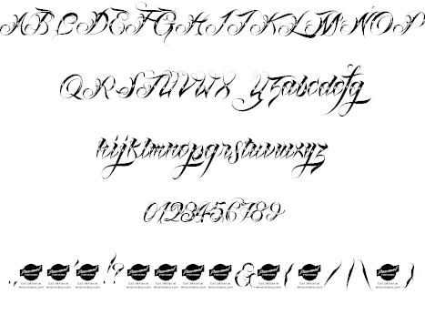 Download Lina Script font (typeface)