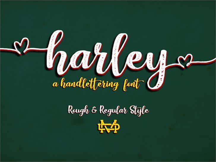 Download Harley Script font (typeface)