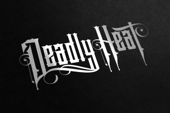 Download Deadly Heat font (typeface)