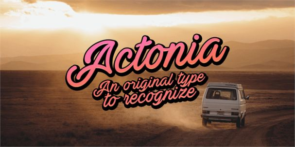 Download Actonia font (typeface)