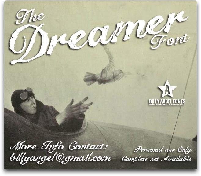 Download The Dreamer font (typeface)