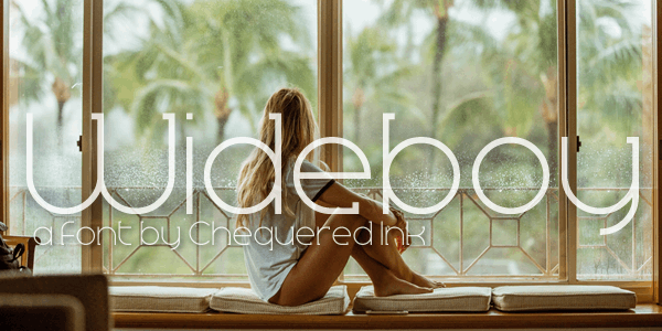 Download Wideboy font (typeface)