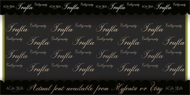 Download Trufla Words font (typeface)