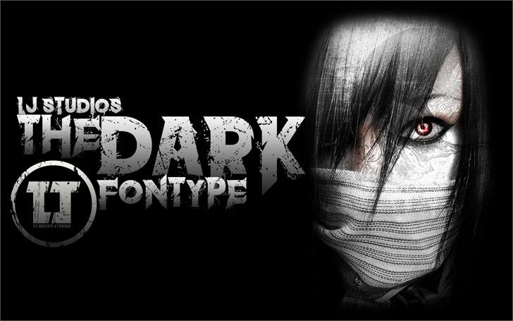 Download The dark font (typeface)