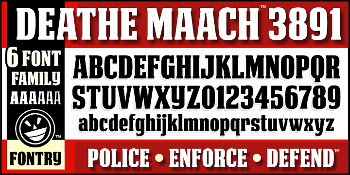 Download DEATHE MAACH NCV font (typeface)