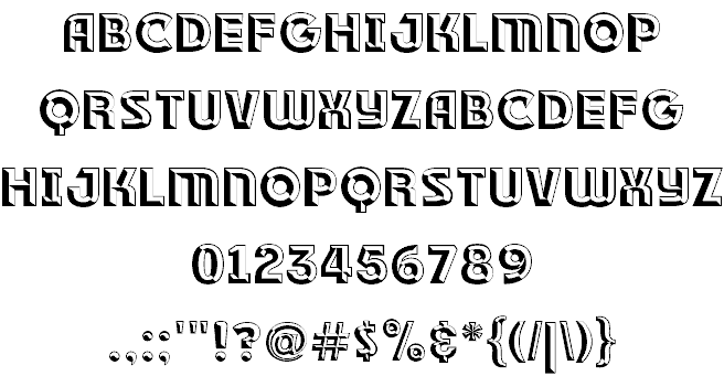 Download RACE1 Brannt NCV font (typeface)