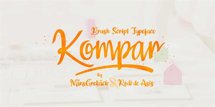 Download Kompar Bold font (typeface)