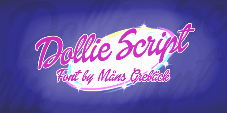 Download Dollie Script font (typeface)