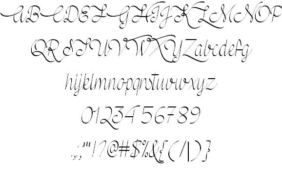 Download Mf Wedding Bells font (typeface)