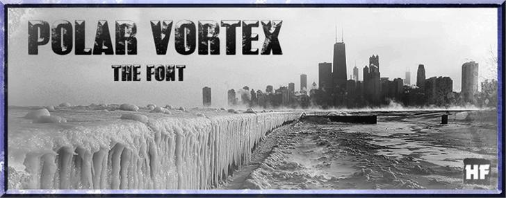 Download POLAR VORTEX font (typeface)