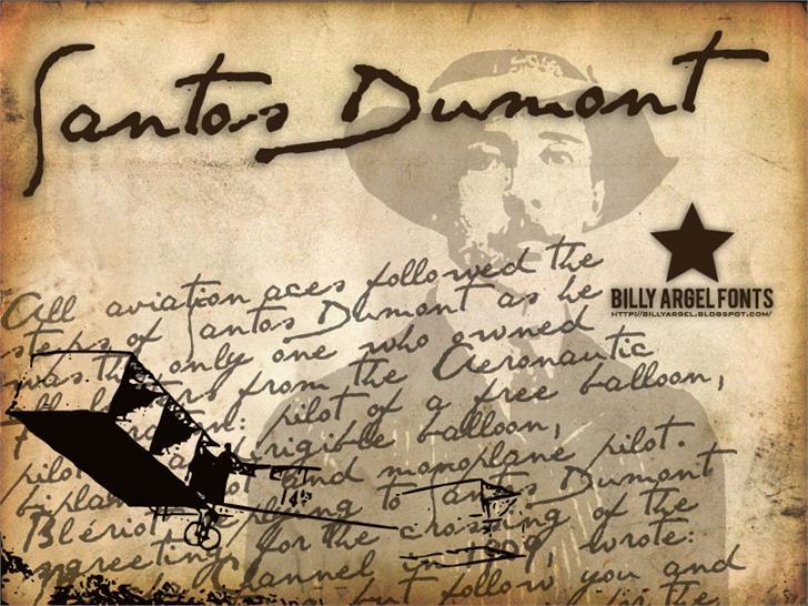 Download SANTOS DUMONT font (typeface)