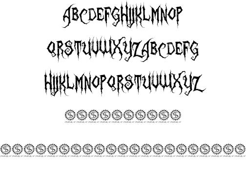 Download Zombie Holocaust font (typeface)