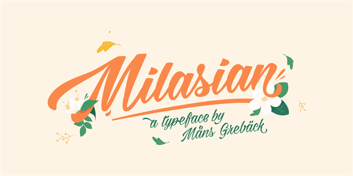 Download Milasian Thin font (typeface)