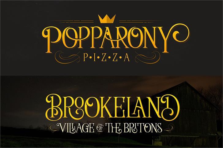 Download Wallington font (typeface)