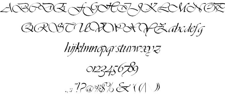 Download Hanford Script font (typeface)