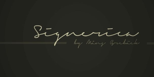 Download Signerica Fat font (typeface)