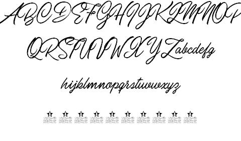 Download Carolina Mountains font (typeface)