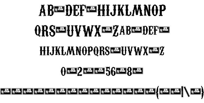 Download Carnivalee Freakshow font (typeface)