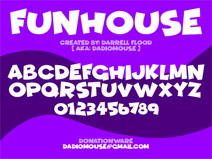 Download Funhouse font (typeface)