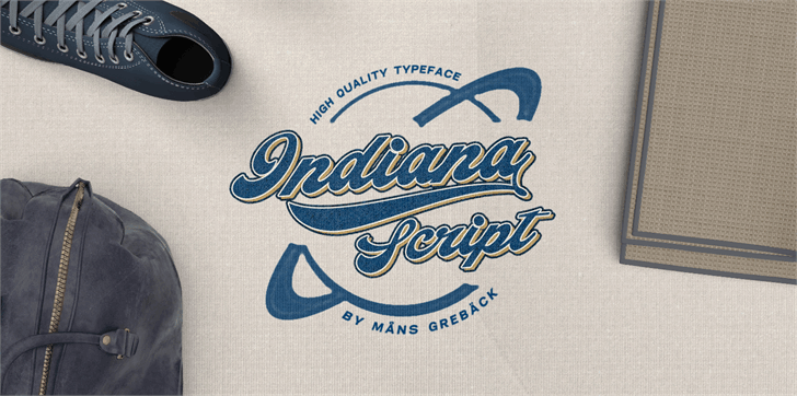 Download Indiana Script font (typeface)