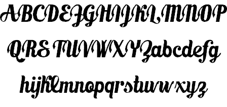Download Marmellata (Jam) font (typeface)