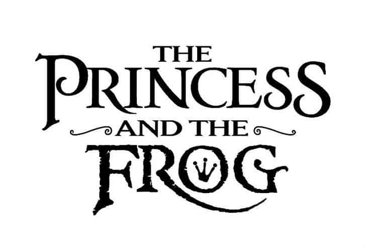 Download PrincesS AND THE FROG font (typeface)