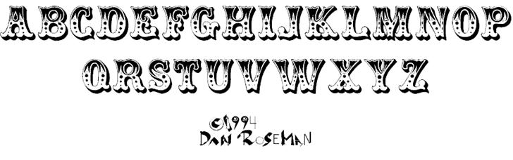 Download Circus font (typeface)