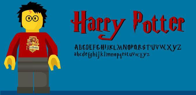 Download Harry Potter font (typeface)