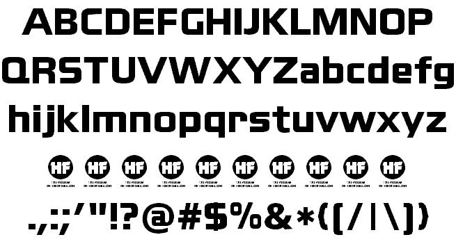 Download Blackthorns font (typeface)