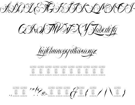 Download Nina Script font (typeface)