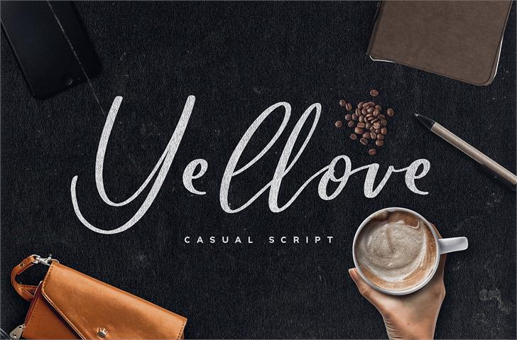 Download Yellove font (typeface)